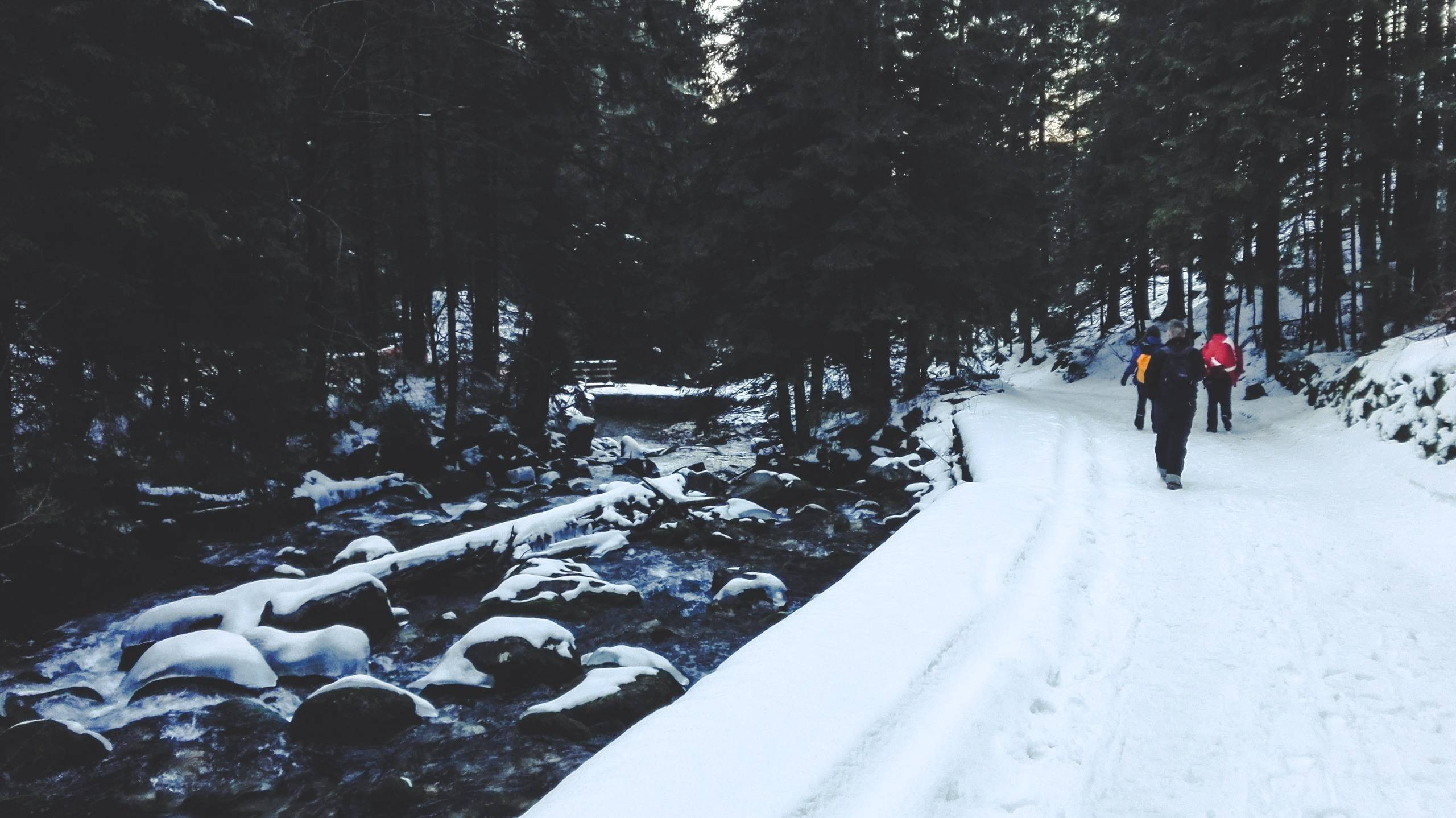 Personal Impressions of Climbing Kasprowy Wierch in Winter After journey like this, walking by Bystra river felt like back to Earth. Photo by Alis Monte . [CC BY-SA 4.0], via Connecting the Dots