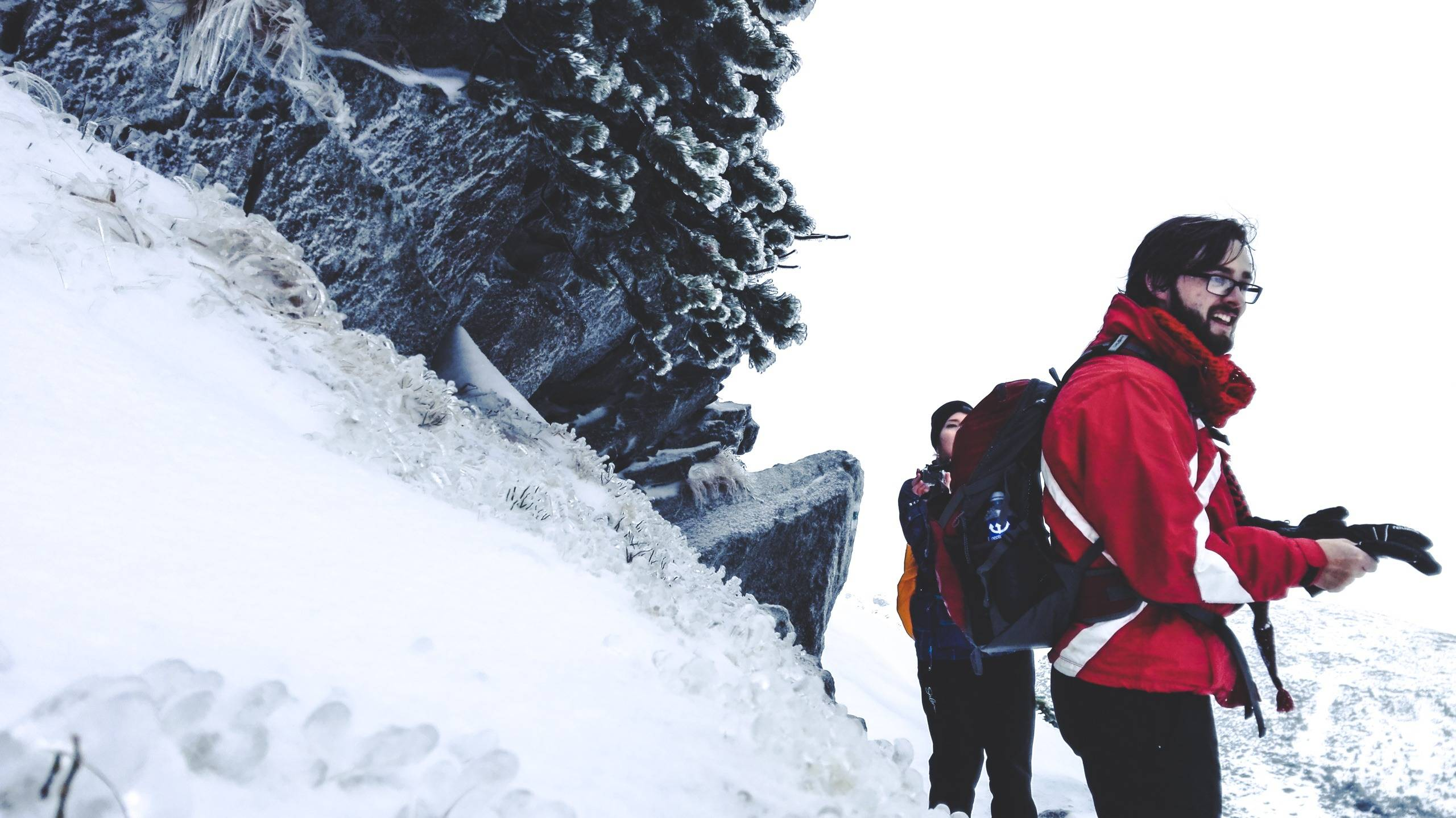 The key to any winter hike is equipment. Photo by Alis Monte [CC BY-SA 4.0], via Connecting the Dots