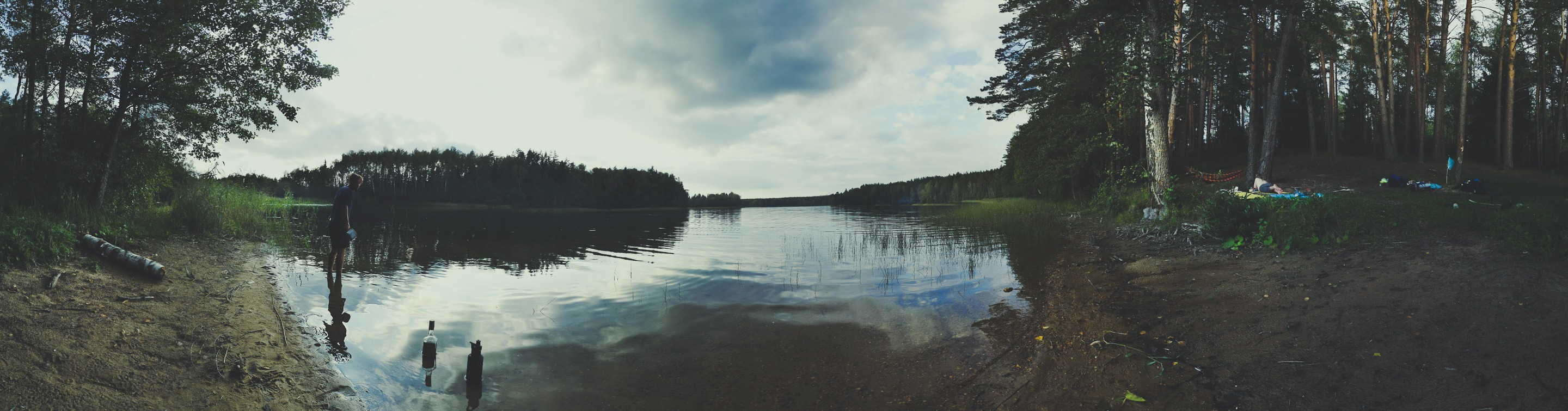 Camping near Black Lakajai Lake in Labanoras Regional Park, Lithuania. Photo Alis Monte [CC BY-SA 4.0], via Connecting the Dots