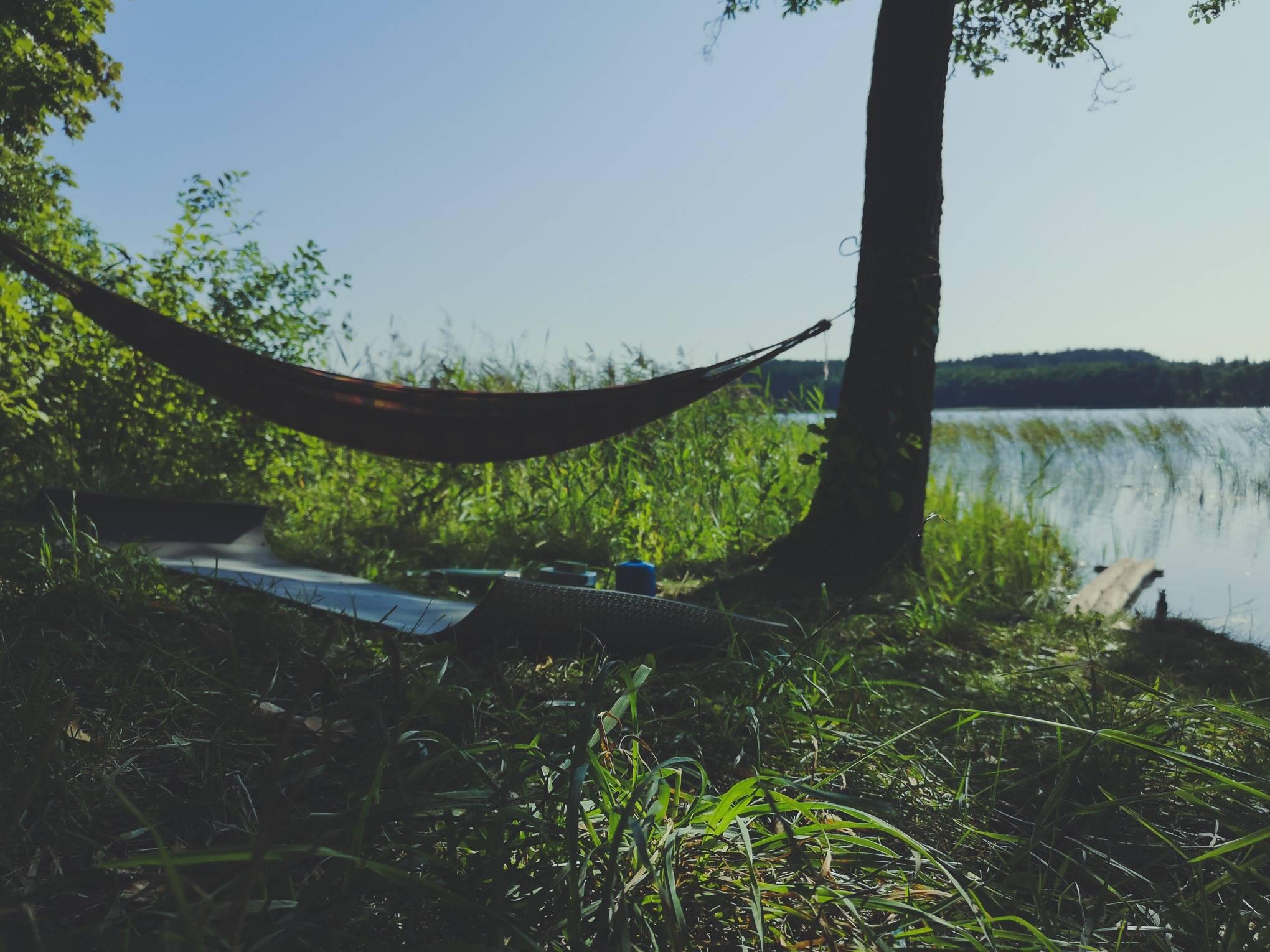 Hammock near White Lakajai Lake in Labanoras Regional Park, Lithuania. Photo Alis Monte [CC BY-SA 4.0], via Connecting the Dots