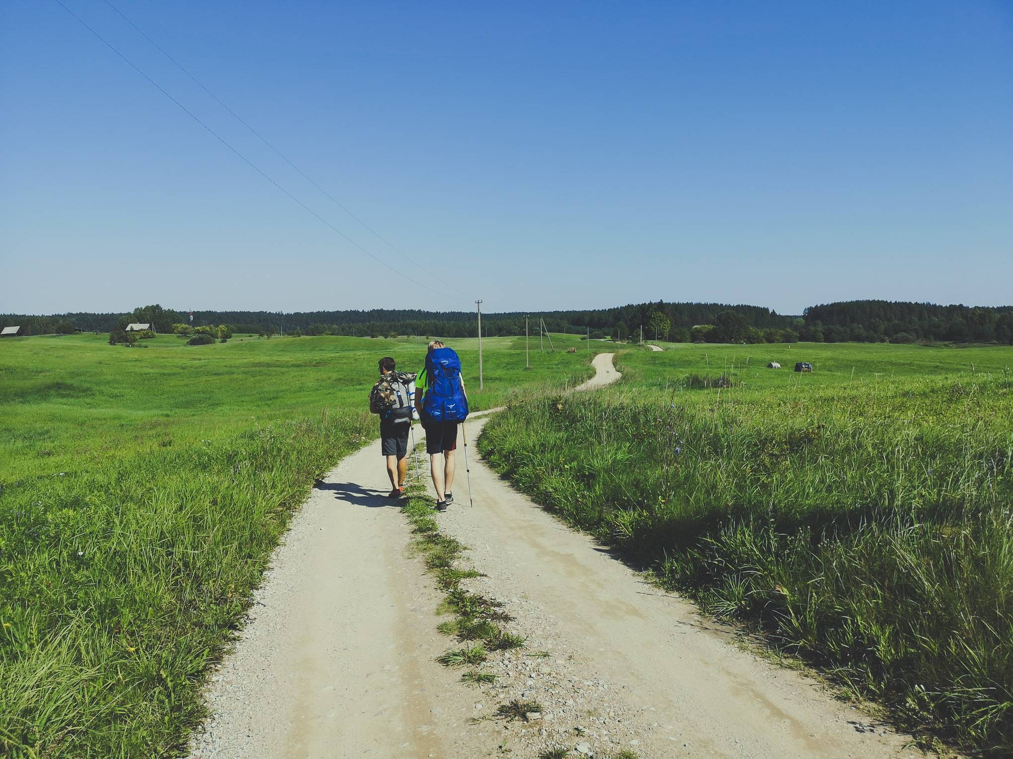 Walking through country side near Lakajai Lakes in Labanoras regional Park, Lithuania. Photo Alis Monte [CC BY-SA 4.0], via Connecting the Dots