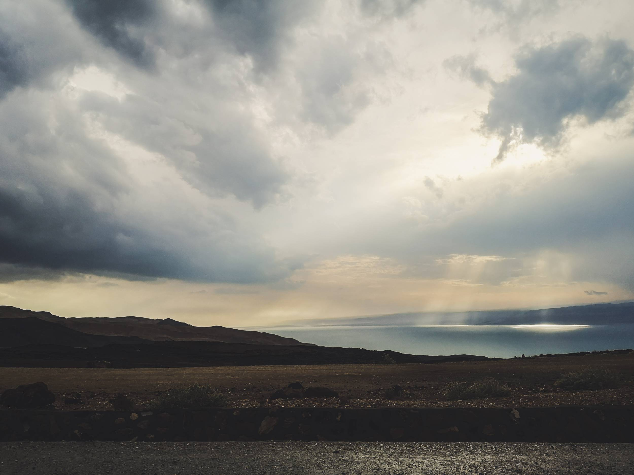 Israelite states were separated from Moab by the Dead Sea, just like Israel is separated from Jordan today. Photo by Alis Monte [CC BY-SA 4.0], via Connecting the Dots