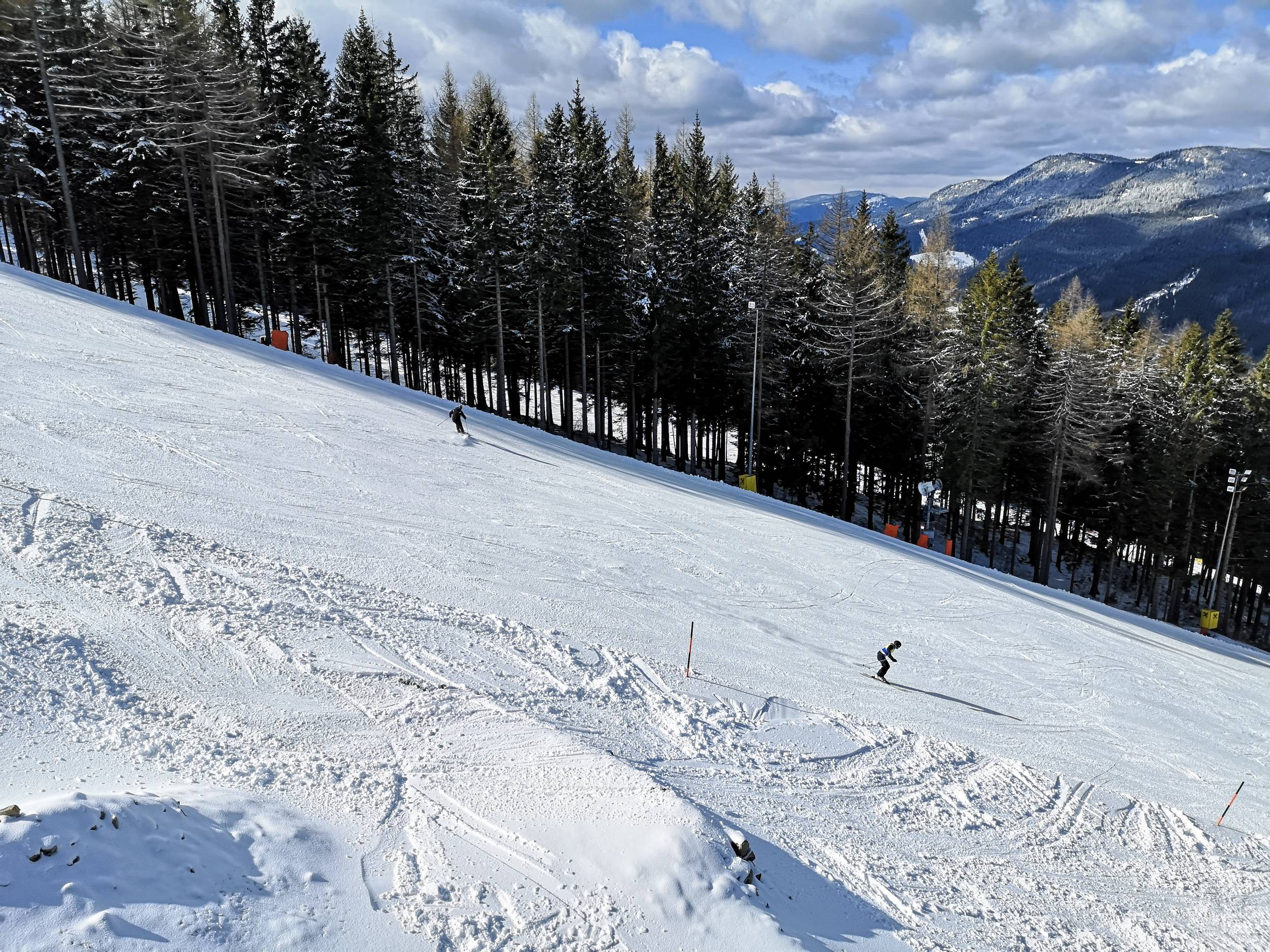 Zauberberg Semmering skiing track is used in Ski World Cups. Photo by Alis Monte [CC BY-SA 4.0], via Connecting the Dots