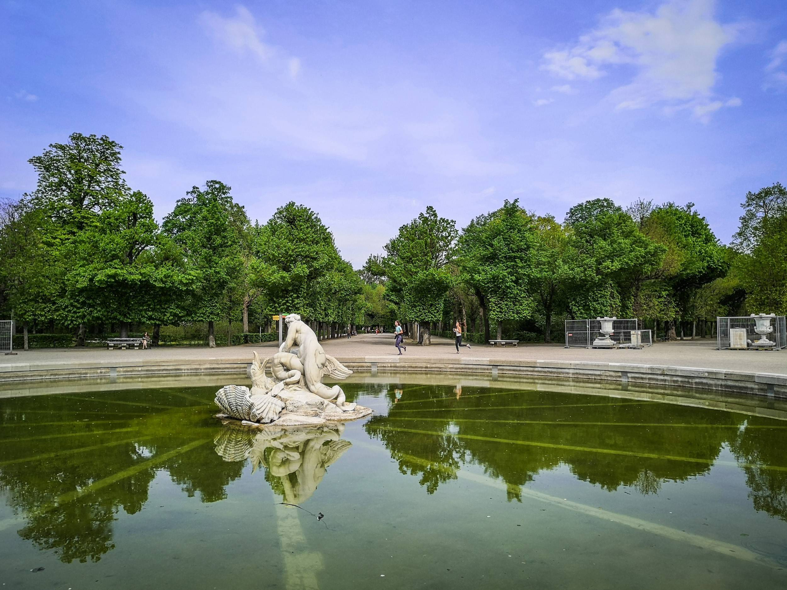 The Naiad Fountain in Schönbrunn, Vienna