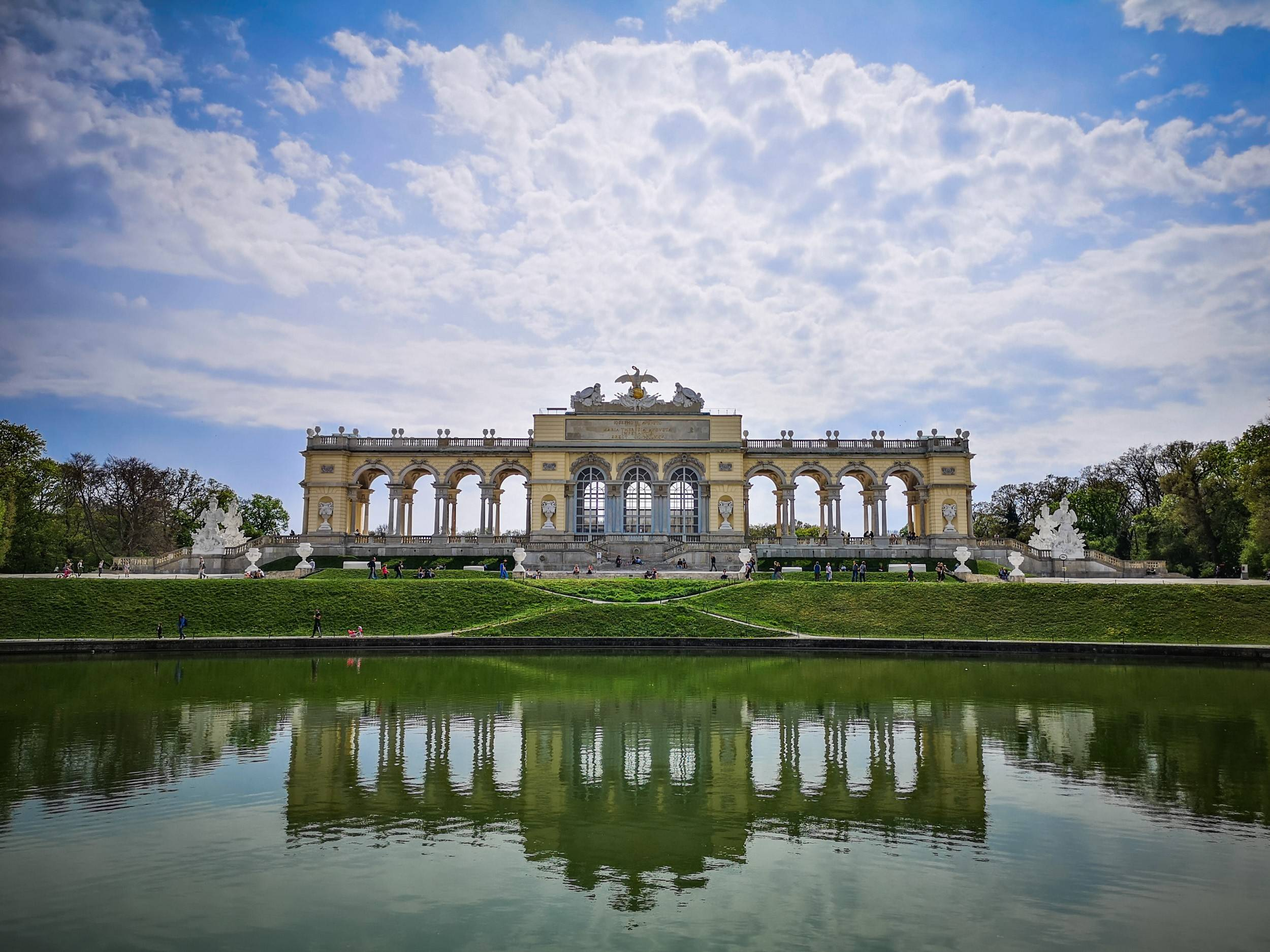 The Gloriette in Schönbrunn, Vienna